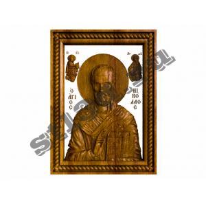 275 Икона Святой Николай Чудотворец