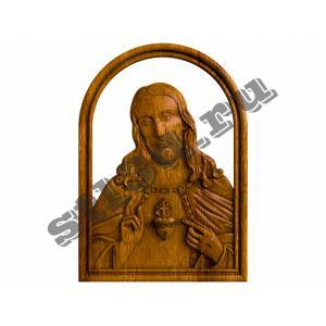 285 Икона Сердце Иисуса