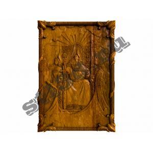 362 Панно Славянский бог Род