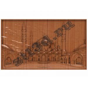 006 Панно Мечеть сердце Чечни
