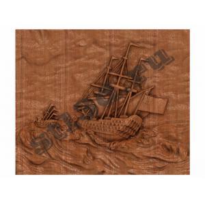 008 Панно Корабль уходит в море